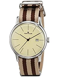 TOM TAILOR Watches Herren-Armbanduhr Analog Quarz Nylon 5415103
