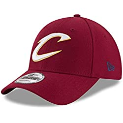 New Era Cleveland Cavaliers the League 9Forty Gorra, Hombre, Rojo, Talla Única
