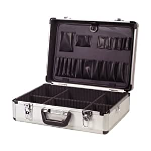 ELECTRICIAN ALUMINIUM LOCKABLE FLIGHT CASE TOOL BOX NEW