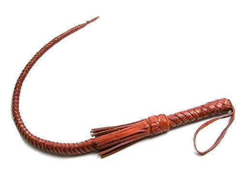 Guiding Star Leitstern 74cm Fashion Leder Peitsche Geflochten von Einem Menschen Verwendet für Jeden Rassen, Bull Whip, Pferd Whip, Professionelle Erregung Peitsche