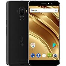 Ulefone S8 Pro - Smartphones y Móviles 4G Android 7.0 Dual SIM Quad Core 2GB RAM + 16GB ROM 5,3 Pulgadas Pantalla IPS HD Cámara Triple (5MP + 5MP + 13MP )Escáner de Huellas Dactilares Teléfono Móvil (Negro)