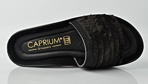 CAPRIUM Mules Femme Grau (Modell 3)