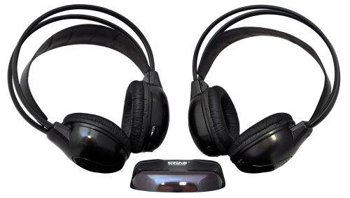r Infrarot-Stereo-Kopfhörer mit Sender (2Stück) ()