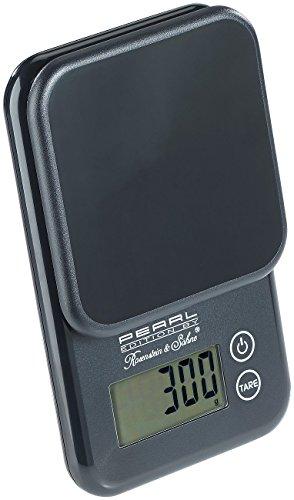 PEARL Briefwaage: Kompakte Digitalwaage mit Touchbedienung für Küche und Büro, bis 3 kg (Küchenwaage)