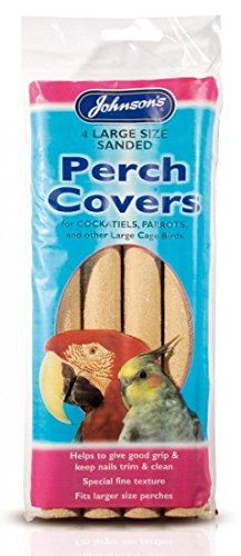 Large Sanded Perch Covers for Cockatiels, Parrots etc.