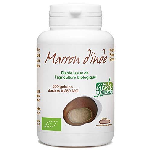 Marron d'Inde Bio 250mg - 200 gélules végétales