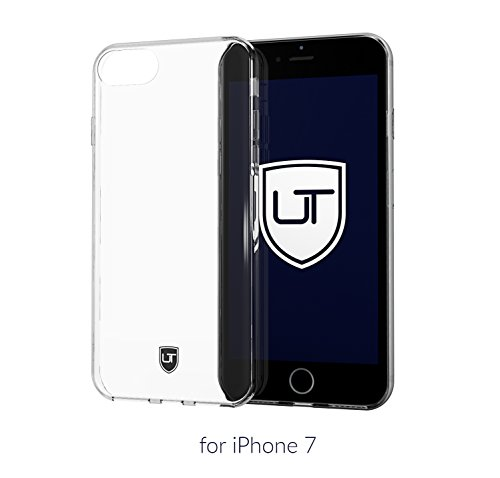 Custodia-iPhone-7-Trasparente-Cover-Protettiva-Cristallo-Morbido-Massima-Protezione-Skin-UTECTION-TPU-Caso-Sottile-Silicone-Case-Bumper-Antiscivolo-Crystal-Clear-Proteggi-Copertura