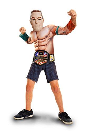 WWE 2228 Wrestling-Star John Cena Deluxe Kostüm, One Size (Wwe-kostüme Für Jungen)