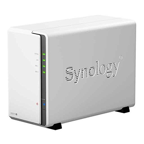 Synology  DS215j 2x SATA 800MHz DualCore Bundle mit 2x 3000GB WD Red 24/7 | 0700667307039