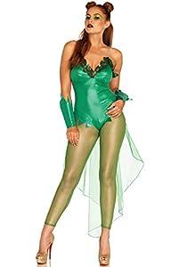 Leg Avenue- Mujer, Color Verde, Medium (EUR 38-40) (86667)