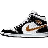 Nike Air Jordan 1 Retro High Mid Se Black Gold 852542-007