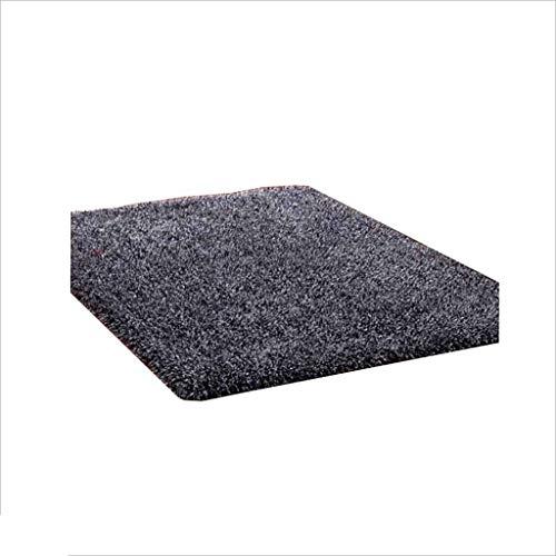 QZ HOME Teppich Einfach Einfarbig Rechteckig Wohnzimmer Sofa Schlafzimmer Kaffeetisch Bettmatte Langer Wollteppich