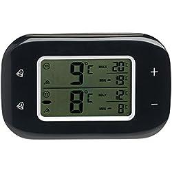 Thermomètre digital sans fil pour réfrigérateur et congélateur avec 2 capteurs [Rosenstein & Söhne]