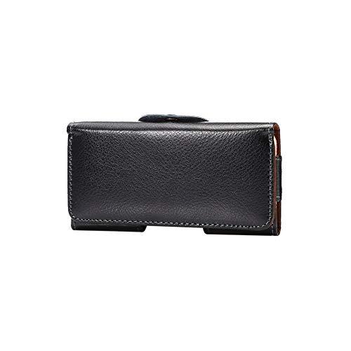 XGBDTJ Handtaschen Damen Universal Echt Leder Hüfttasche Handytasche Tasche Horizontale Fall Mode Living Mit Gürtel Clip Hook Loop Tasche Für Samasung Mega6.3 6.0 6.3 -