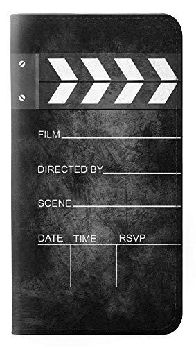 Innovedesire Vintage Director Clapboard Flip Hülle Tasche Klappetui für Samsung Galaxy A10
