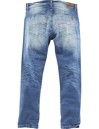 ROADSIGN australia 5-Pocket Jeans Cooper blau / denim