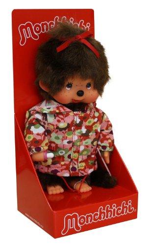 Preisvergleich Produktbild Sekiguchi 200970 - Monchhichi Mädchen mit Parka, circa 20 cm, geblümt