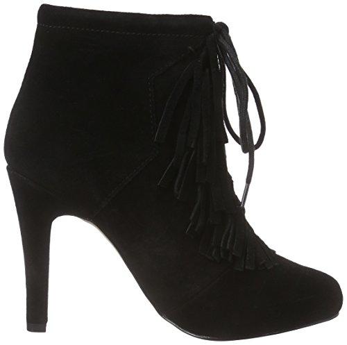 Bullboxer 132503f6c, Chaussures à talons - Avant du pieds couvert femme Noir - Schwarz (BLCK)
