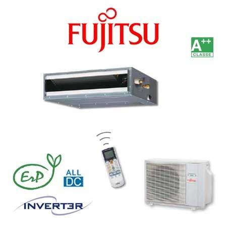 Climatisateur Fujitsu ACY40UiA-LL (Atlantic ARYG14LLT Unité intérieure + Unité extérieure Catégorie: Gainable (Inverter) Puissance frigorifique: 4.3 kW. Puissance calorifique: 5.0 kW. Class énergétique: A+