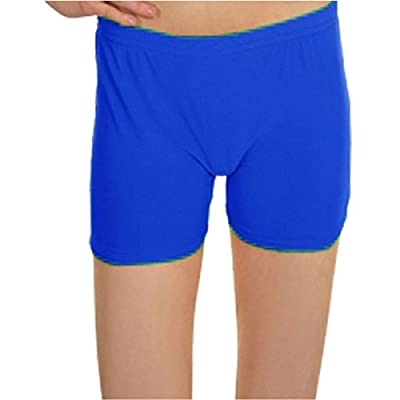 Angies Girls Kids Neon Lycra Stretchy Dance Sports Hot Pants Shorts Knickers in Different Colours and Sizes 5-12 Years : everything £5 (or less!)
