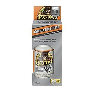 Gorilla Glue 1244401 Purpose Adhesive Clear 110ml, Crystal
