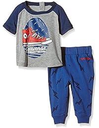 Converse Baby Boys Lightning Bolt Clothing Set