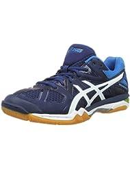 Chaussures Asics Gel-TACTIC bleu/blanc/jaune