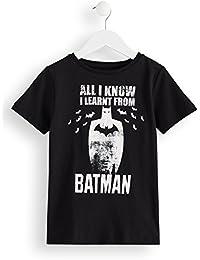 Marque Amazon - RED WAGON T-Shirt Batman en Coton Garçon