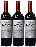 Frescobaldi Remole Vin Rouge IGP Toscana Italie 0,75 L - Lot de 3