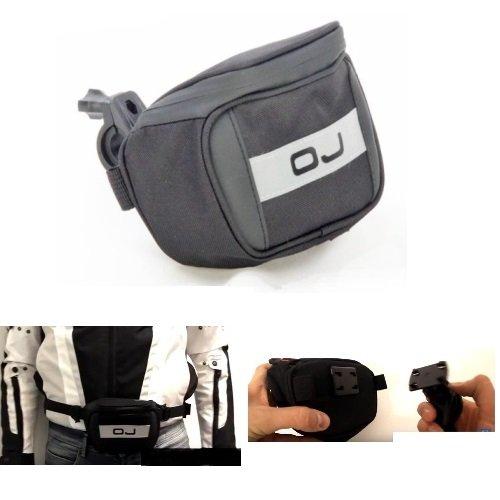 OJ M158 Transporttasche für MP3-/MP4-Player, zur Befestigung am Lenker, oder in Gelb, universal, Maße: 14 x 10 x 5 cm Sport Mp4 Watch Player
