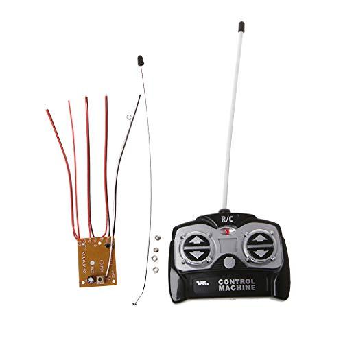 siwetg 5CH 27 MHz Fernbedienung Einheit Empfängerplatine + Fernbedienung Für Tank Auto Spielzeug Radio System Für 130 Motor 6 V 5 V