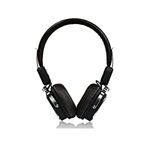 Best Product REMAX RB-200HB Wireless Bluetooth 4.1 Stereo Headphones with Microphone Wireless/Wired Noise Cancelling Headphones Comportable Earmuffs Earphones On-ear Headsets (black/brown)