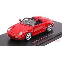 SCHUCO SH8878 PORSCHE 911 (993) SPEEDSTER RED 1:43 MODELLINO DIE CAST MODEL