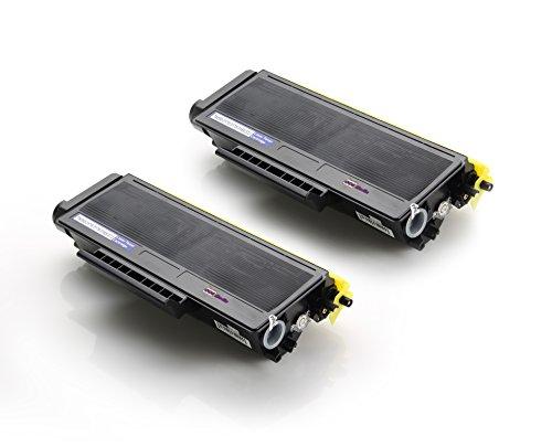 2x Toner kompatibel zu BROTHER TN3170 TN3280 BK | schwarz / ca. 8000 Seiten | für HL-5370 HL-5340 HL-5380 HL-5350 DCP-8070 D DCP-8080 DN DCP-8085 DN DCP-8800 Series DCP-8880 DN DCP-8890 DW HL-5300 8800-serie