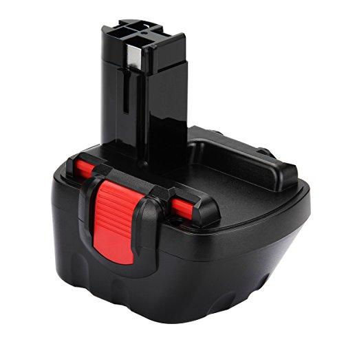 Creabest 12V 3000mAh Ni-MH Akku für Bosch BAT043 BAT045 BAT046 BAT049 BAT139 22612 3360 3455 32612 3360K 3455-01 2607335274 2607335709 2609200306