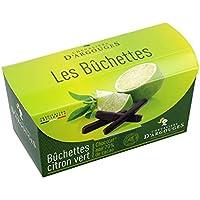Bûchettes citron vert enrobées - Chocolat noir 70% Chevaliers d'Argouges 150g