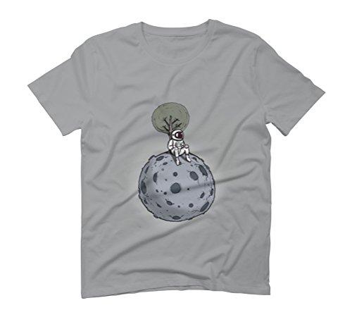 spaceman waits Men's Graphic T-Shirt - Design By Humans Opal