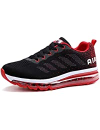 Homme Femme Air Baskets Chaussures Gym Fitness Sport Sneakers Style Running Multicolore Respirante