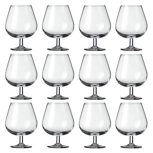Cognacgläser, 540 ml, 12 Stück, transparent, modern, Cru Cognac