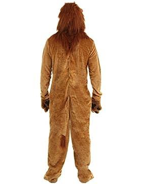 Nihiug Leone Adatta A Costumi Di Halloween Animali Stage Esecutori Adulti Ragazze Lions Lions Cos Cos Costumi...