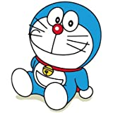 Soft Cotton Square Throw Pillow Case Print Japanese Anime Doraemon Decorative Sofa Pillowcases 45x45cm
