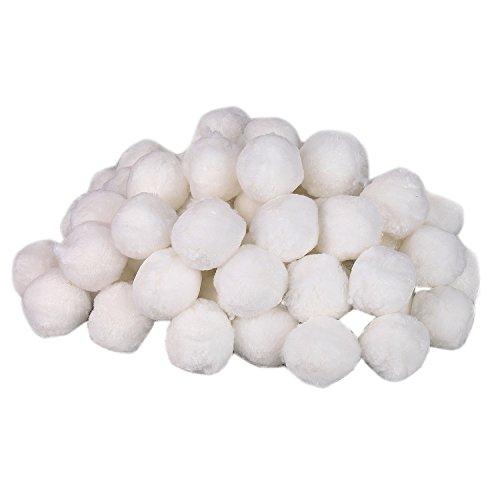 Aitsite 700g Filter Balls Pool Filterkessel Sandfilter 25 kg Filtersand Quarzsand Ersatzprodukte