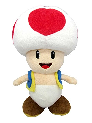 Official Super Mario All Star Collection Plush By Sanei;Cute and collectible;Soft and Cuddly!;Approx. Size: 4.5