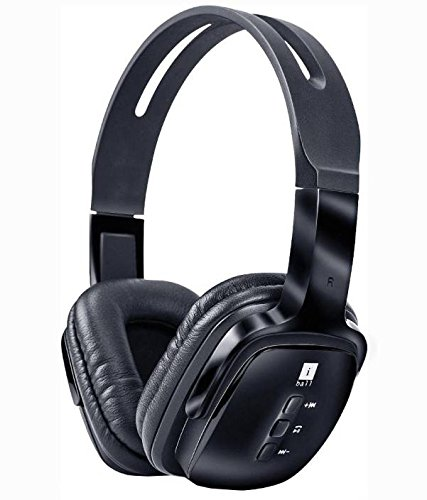 iBall Pulse BT4 Neckband Wireless Bluetooth Headphones with Mic, Black