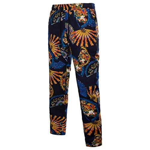 Mitlfuny Karnevalsparty Fancy Festival Zubehör,Männer Hosen Harem Sweatpants Hosen Casual Jogger Sportwear Baggy Comfy Pants