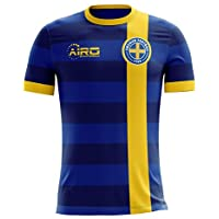 Airo Sportswear 2018-2019 Sweden Away Concept Football Shirt