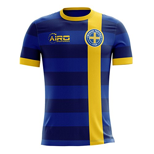 Airo Sportswear 2018 2019 Sweden Away Concept Football Shirt (Kids)