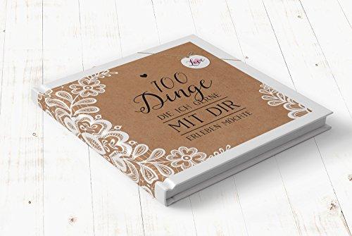 """Buch """"100 Dinge die ich gerne mit Dir erleben möchte"""" Sweet Vintage"""