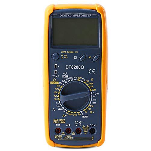 YALTOL Digital Multimeter Test AC/DC Widerstand Kapazität Amperemeter Voltmeter Temperatur Auto multimetro Duty Ratio Tester - Test Spannung Multimeter