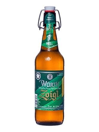 Würth Zoigl hell (12 Bügelflaschen 0,5l)